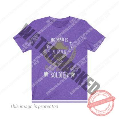 Until He has Been a Soldier Jersey Tee